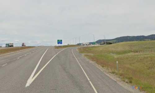 mt interstate i15 montana divide rest area northbound mile marker 108.5