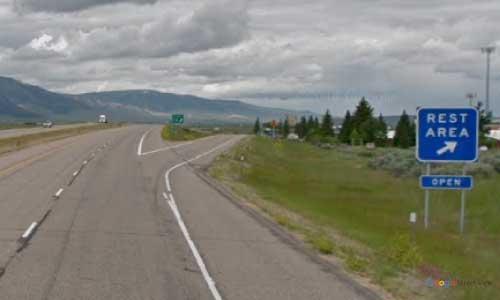 mt interstate i15 montana lima rest area northbound mile marker 15