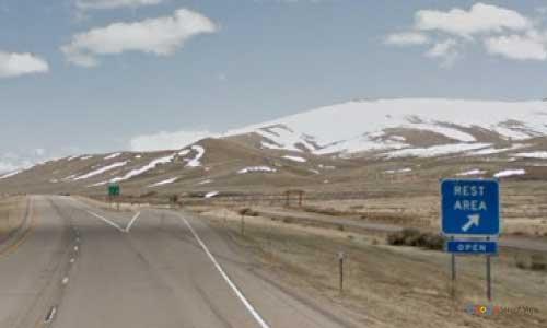 mt interstate i15 montana lima rest area southbound mile marker 15