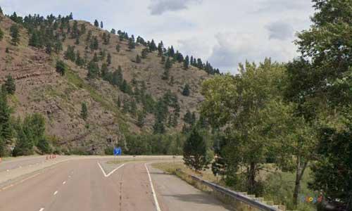 mt interstate i15 montana lyons creek rest area northbound mile marker 222