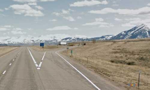 mt interstate i15 montana red rocks rest area southbound mile marker 33.9
