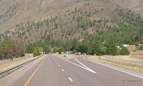 mt interstate i90 montana alberton rest area westbound mile marker 72