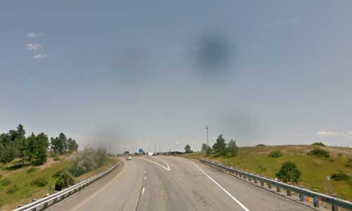 mt interstate i90 montana columbus rest area eastbound mile marker 418