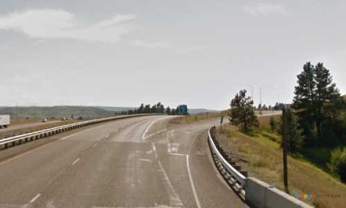 mt interstate i90 montana columbus rest area westbound mile marker 418