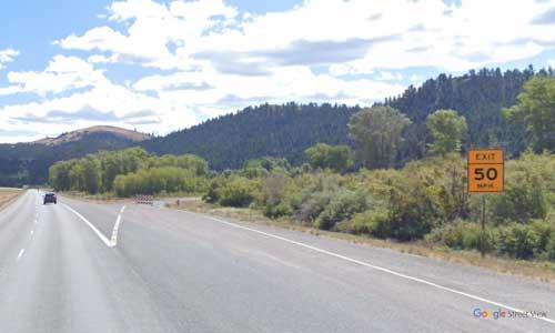 mt interstate i90 montana gold creek rest area eastbound mile marker 169