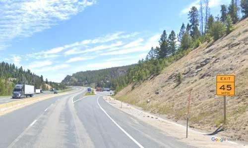 mt interstate i90 montana goldstake rest area eastbound mile marker 235