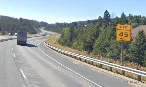 mt interstate i90 montana goldstake rest area westbound mile marker 235