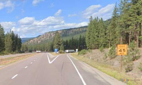 mt interstate i90 montana quartz flats rest area westbound mile marker 58