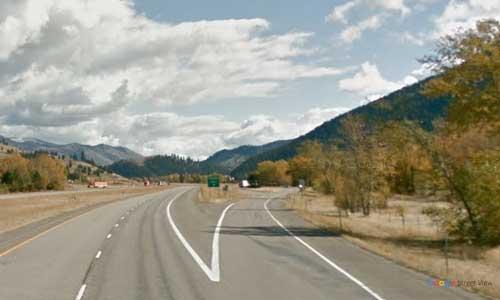 mt interstate i90 montana rock creek rest area eastbound mile marker 127