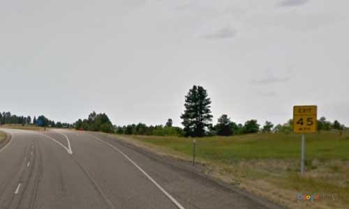 mt interstate i94 montana custer rest area westbound mile marker 38
